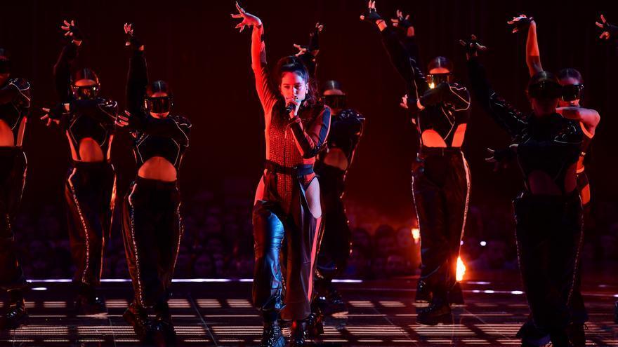 Rosalía en los MTV EMA's 2018