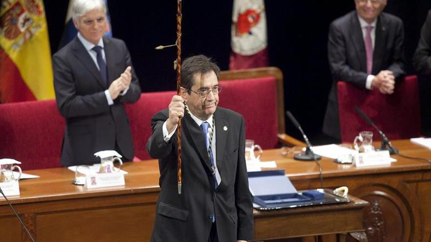 Antonio Martinón, nuevo rector de la Universidad de La Laguna.