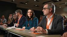 """La gestora de Ciudadanos encomienda a un grupo de trabajo """"explorar"""" acuerdos con el PP para Galicia, Euskadi y Catalunya"""