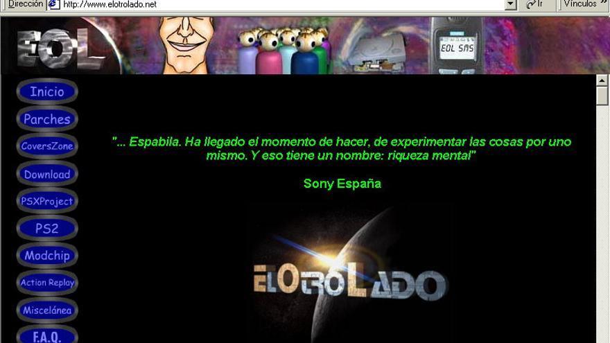 Así lucía ElOtroLado a comienzos de los años 2000 (Imagen: Cedida por Álvaro Garrido)
