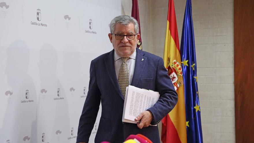 Ángel Felpeto, este lunes en su comparecencia ante la prensa