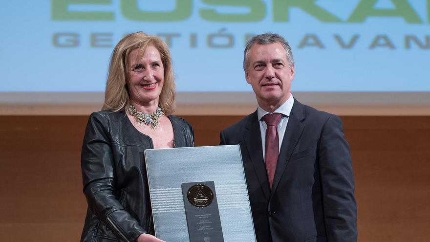 Urkullu entrega el Premio Vasco a la Gestión Avanzada