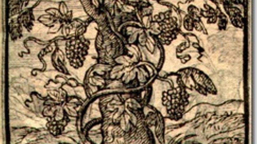 Emblema de Alciato por Plantin, Amberes.