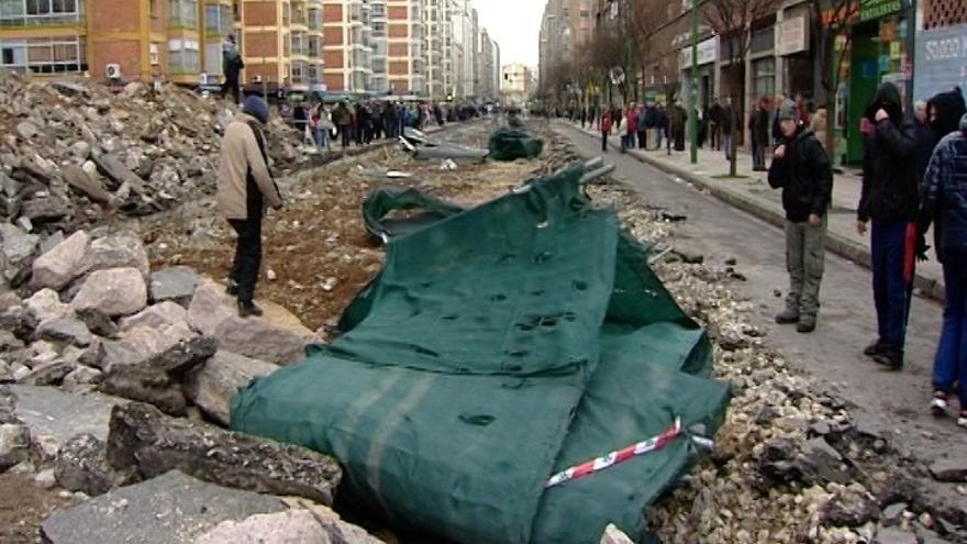 """Las protestas en Burgos llegan al Congreso de mano del PSOE, que reprochará a Interior que """"criminalice"""" a los vecinos"""