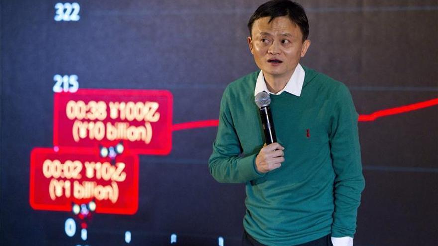"""Alibaba alcanza una facturación récord de 9.300 millones en el """"Día de los solteros"""""""