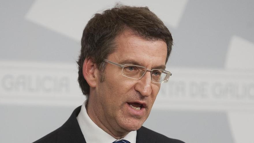 """Feijóo defiende la """"lealtad inquebrantable"""" del PP a Rajoy y no cree que Aznar vaya a volver a la política activa"""
