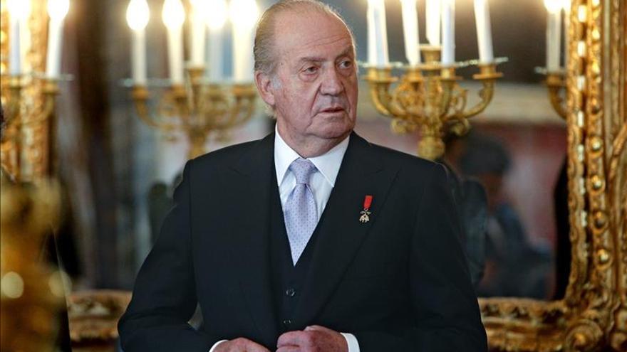 Los Reyes y los Príncipes ofrecerán una recepción el día 8 en el Palacio Real