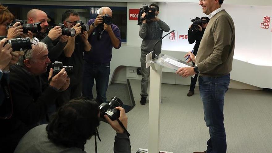 """La gestora del PSOE cree que el comité de mañana reflejará """"cambio"""" y """"sosiego"""""""