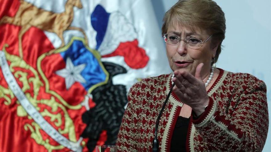 Bachelet expresa el apoyo de Chile a México tras el terremoto