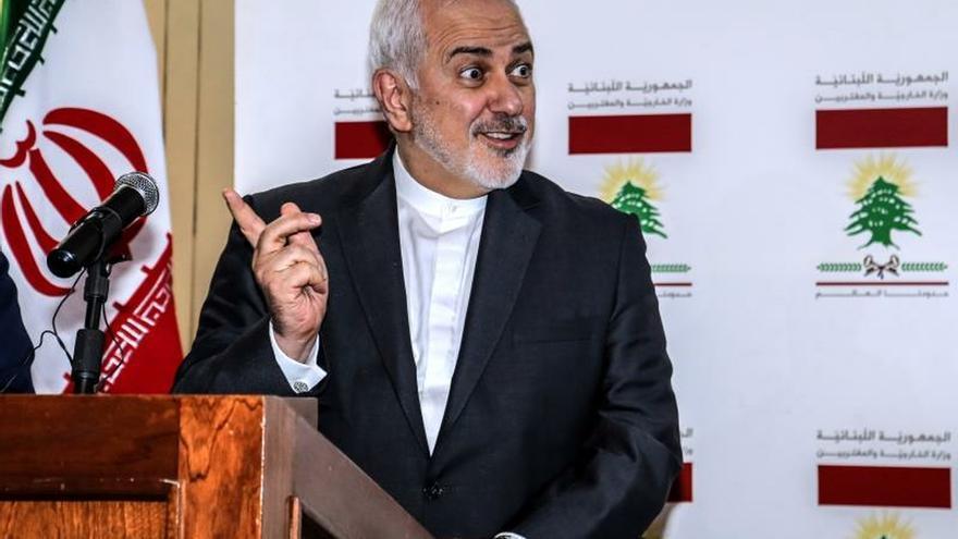 El ministro de Exteriores iraní, Javad Zarif.