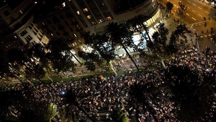 ANC y Òmnium creen que la aplicación del 155 supone la liquidación del autogobierno catalán