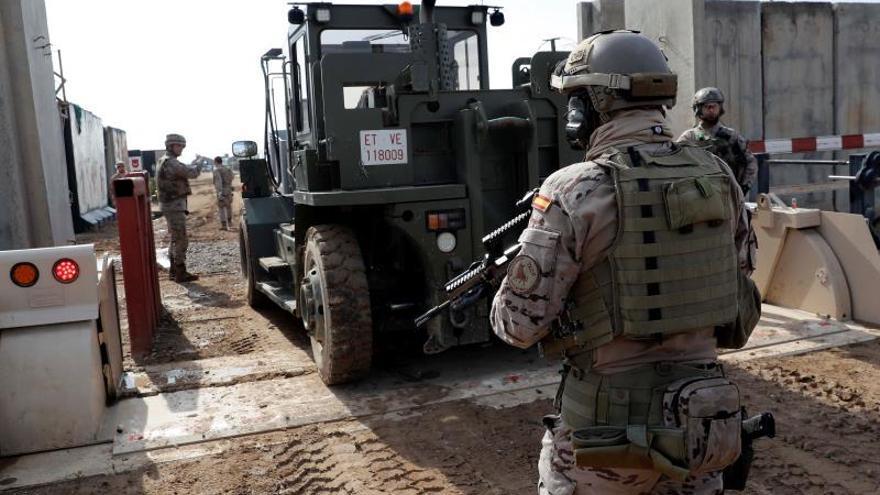 Tranquilidad en la base española en Irak tras los ataques de la madrugada