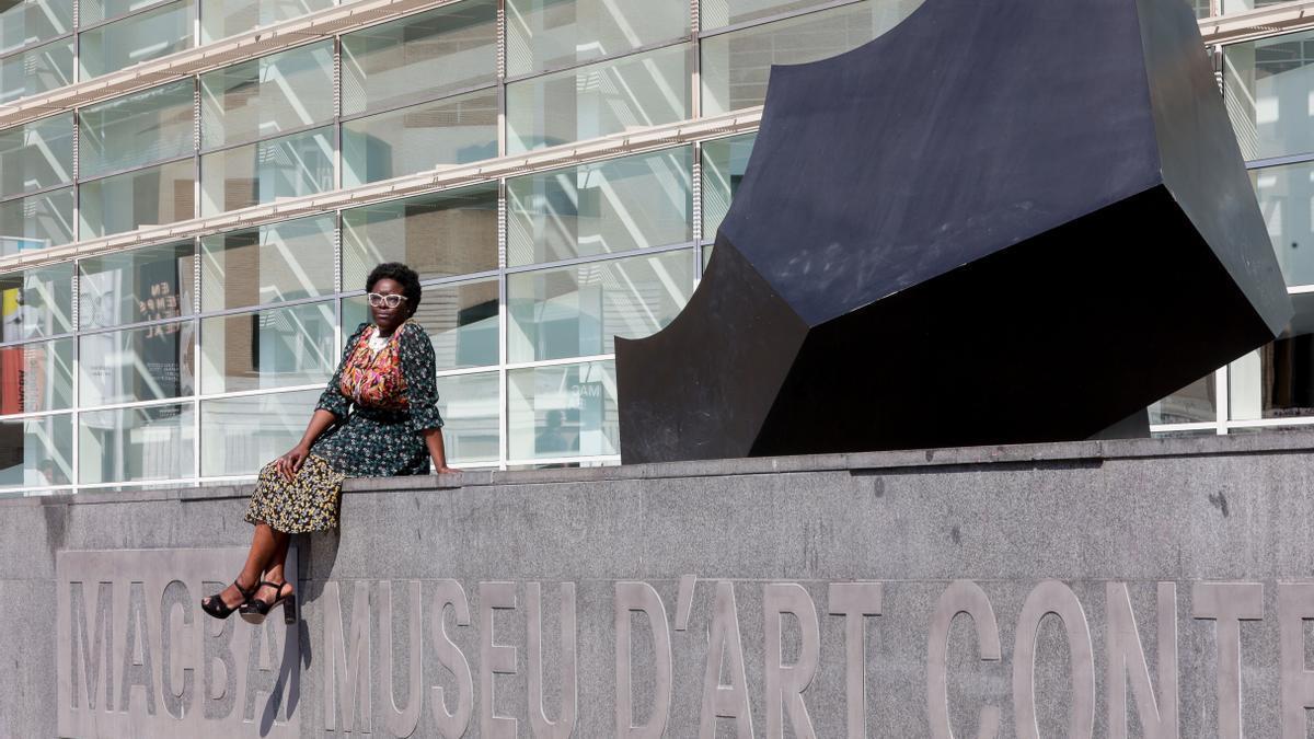 La nueva directora del Museo de Arte Contemporáneo de Barcelona (MACBA), la historiadora del arte Elvira Dyangani Ose
