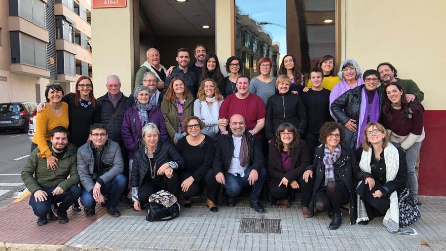 Cargos de la coalición Compromís organizan una comida de apoyo a Beatriz Jiménez