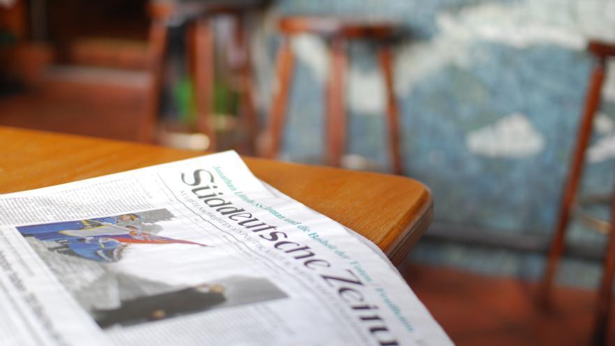 Un ejemplar del Süddeutsche Zeitung CC Thomas Angermann / Flickr