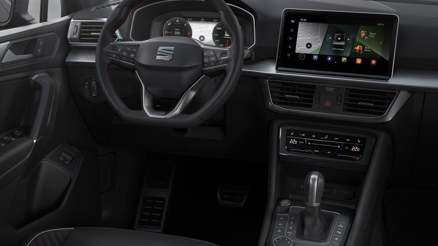Con el Tarraco PHEV debuta la última generación del sistema de información y entretenimiento de Seat.