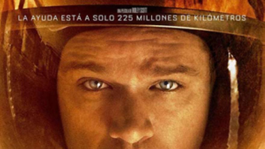 Cartel de 'Marte (The Martian)', de Ridley Scott