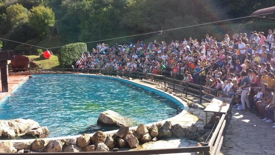 Cabárceno acoge 7.441 turistas este Jueves Santo, un 5% más