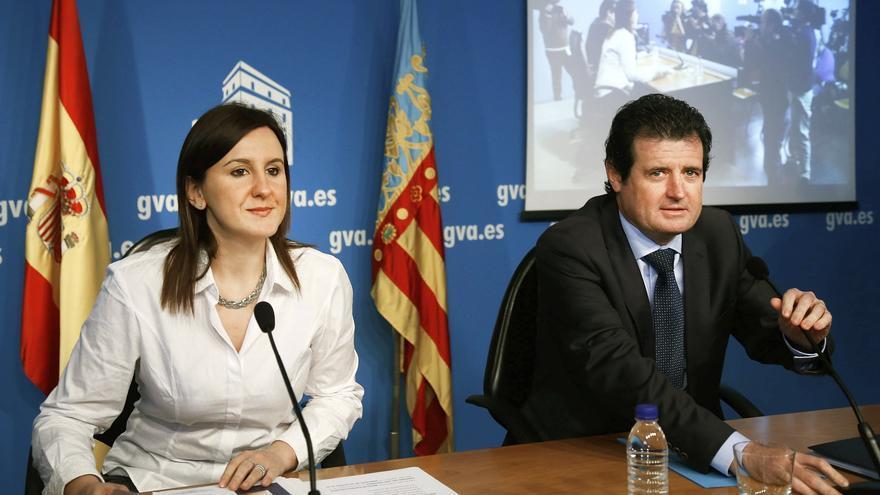María José Catalá y José Císcar han comparecido en rueda de prensa