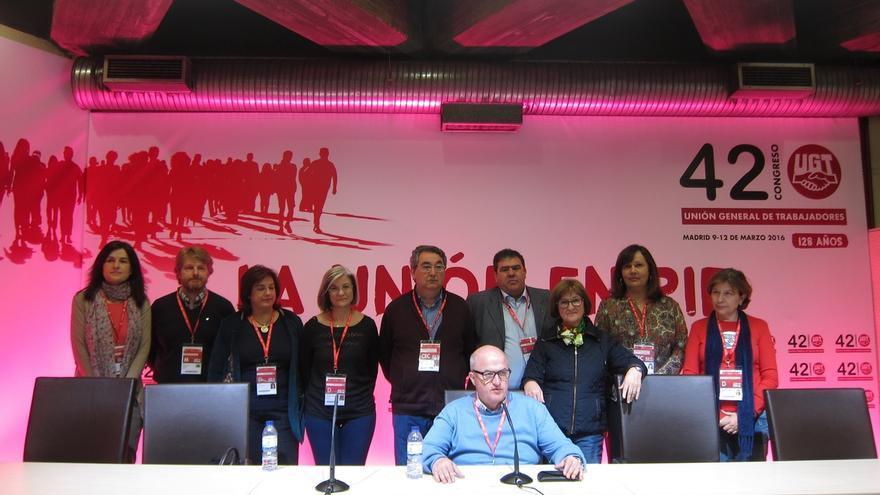 Cilleros mantiene en el equipo de su candidatura a dos miembros de la Comisión Ejecutiva de Méndez