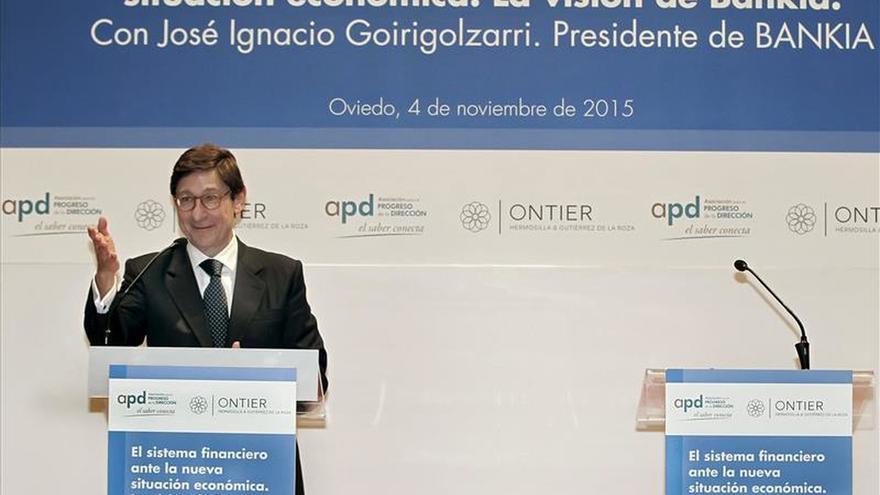 Bankia, líder de la gran banca española en rentabilidad y eficiencia