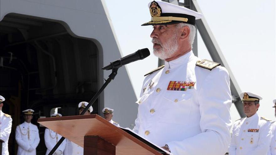 Santiago Bolíbar Piñeiro se despide como almirante de la Flota