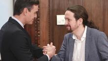PSOE y Unidas Podemos pactan derogar la 'ley mordaza' y auditar los bienes expoliados por el franquismo