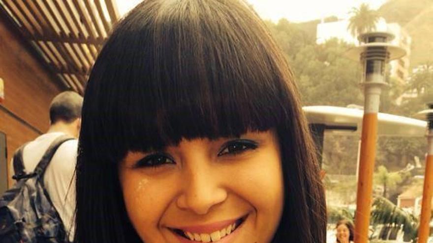 Noelia Rodríguez Martín, candidata de Ciudadanos al Senado por La Palma .
