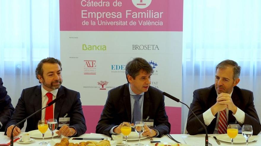 Un desayuno de la Cátedra de la Empresa Familiar de la Universidad de Valencia