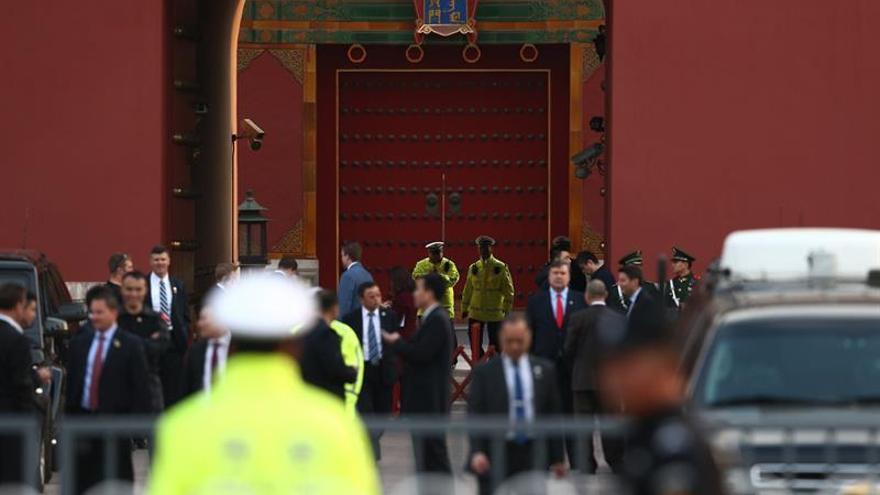 Xi, Trump y sus esposas visitan la Ciudad Prohibida de Pekín