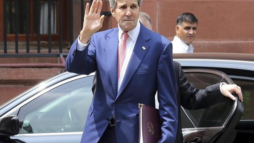 Kerry llega hoy a Kiev en medio del recrudecimiento del conflicto ucraniano