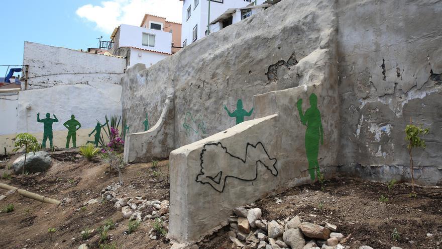 Zona verde en el Risco de San Nicolás