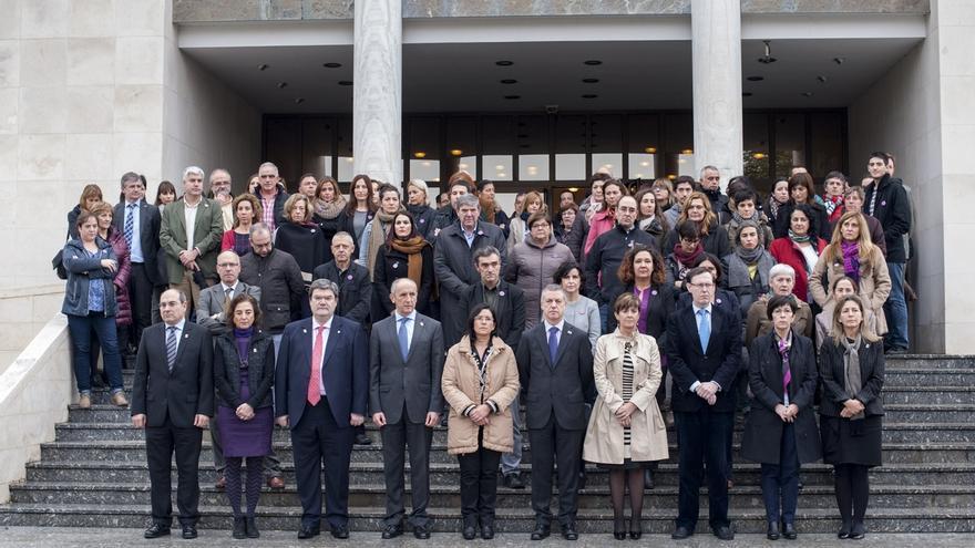 """Gobierno vasco se compromete a seguir trabajando """"por una sociedad libre de violencia contra las mujeres"""""""
