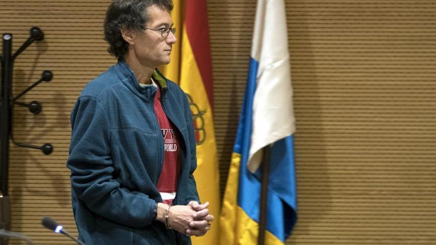 Domingo Martín S.J., acusado de asesinar a su madre, a la que sedó y decapitó en junio de 2014 en la capital grancanaria