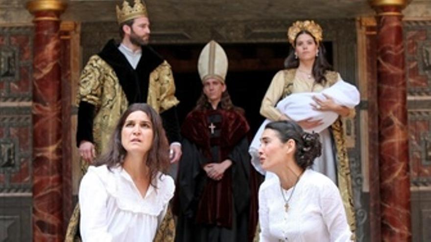 Espectáculo 'Enrique VIII', de W. Shakespeare interpretado por compañía Rakatá
