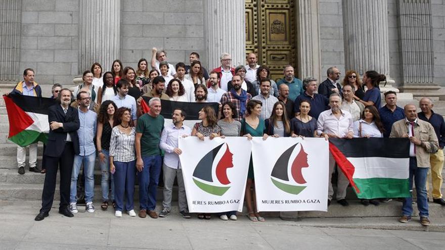 """Podemos pide al Gobierno que garantice la seguridad de """"Mujeres rumbo a Gaza"""""""