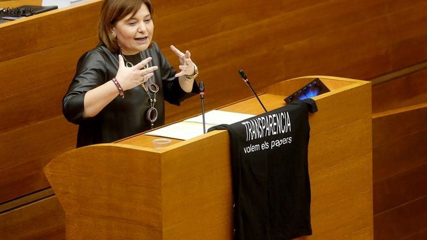 La lider del PP, Isabel Bonig