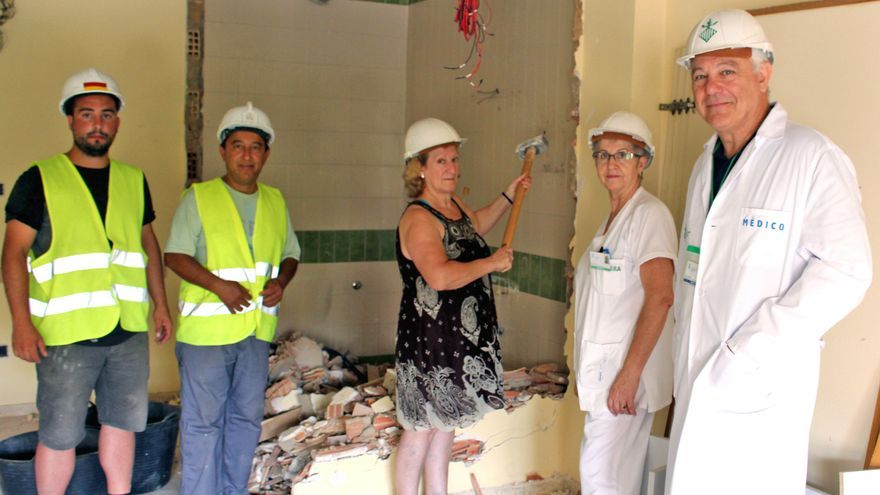 Las obras que se están desarrollando en el Hospital General de Valencia