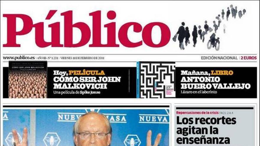 De las portadas del día (18/02/2011) #12