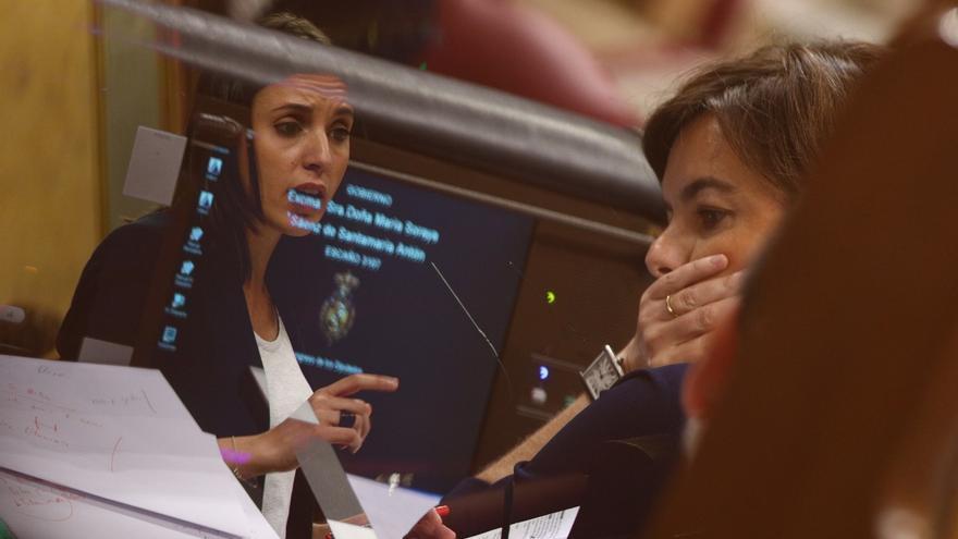 Irene Montero quiere pedir explicaciones a la vicepresidenta del Gobierno por la acusación contra el PP