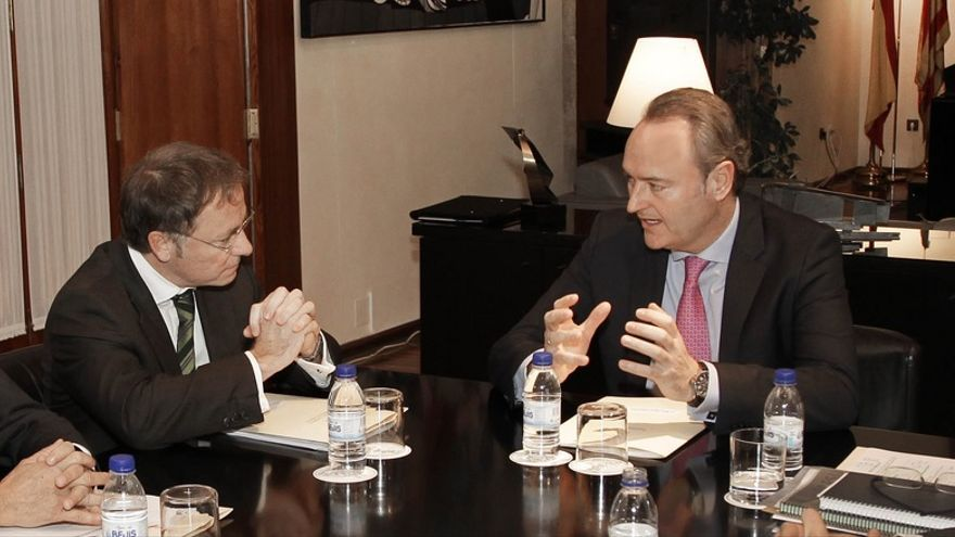 Juan Carlos Moragues Alberto Fabra