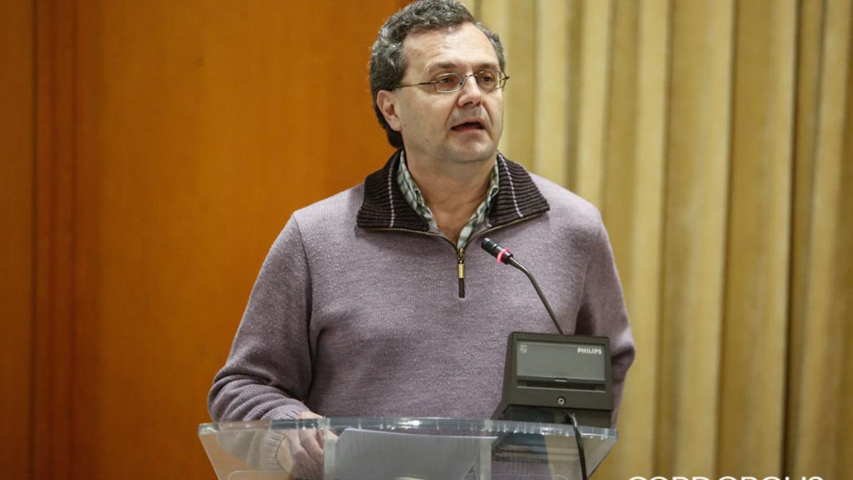 Imagen de archivo de Juan Andrés de Gracia en el Pleno del Ayuntamiento