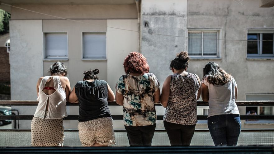 Empleadas domésticas en España, en septiembre de 2018.