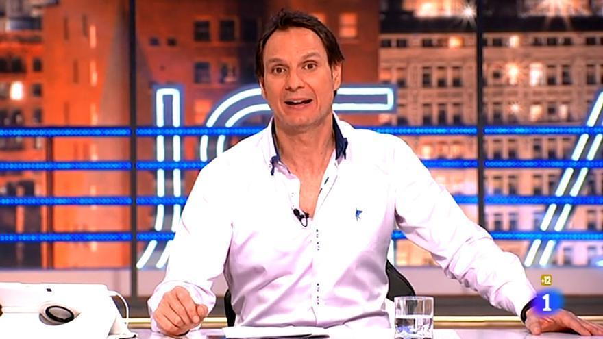 Javier Cárdenas, presentador de 'Hora Punta' en TVE