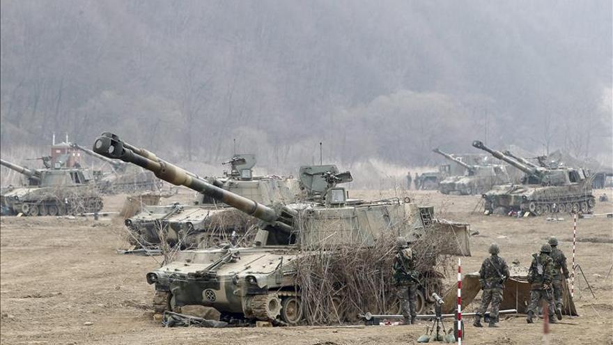 Maniobras de Corea del Sur y EE.UU. ante hipotéticos ataques biológicos