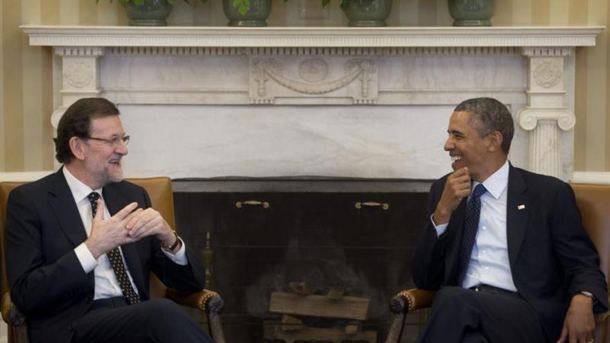 Rajoy, a la búsqueda de inversores de EE.UU. tras el respaldo de Obama