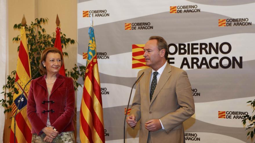 Los gobiernos aragonés y valenciano colaborarán en sanidad, medio natural y turismo