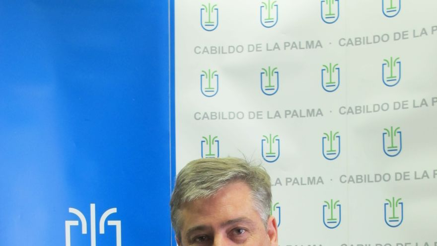 Jorge González es consejero de Infraestructuras.