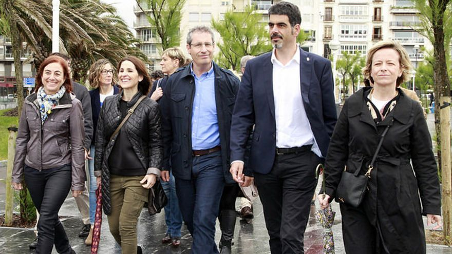 El 'caso Bidegi' ha complicado la campaña de los candidatos del PNV en Gipuzkoa.