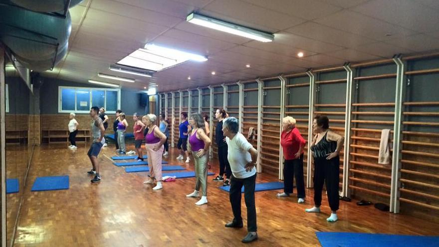 Una de las actividades del gimnasio Sant Pau del Raval en Barcelona
